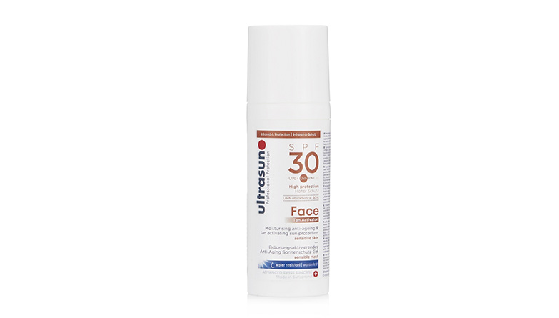 Ultrasun Sun Protection Face Tan Activator SPF30