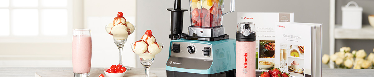 The vitamix creations blending machine performs dozens of kitchen tasks with speed and precision create nutritious gourmet results every time with this
