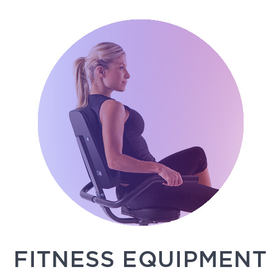 Fitness equipment and workout accessories