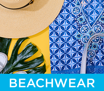 Beachwear and beach bags