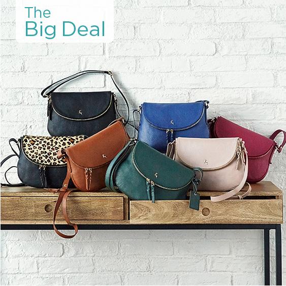 Ashwood Leather Cross-body Handbag